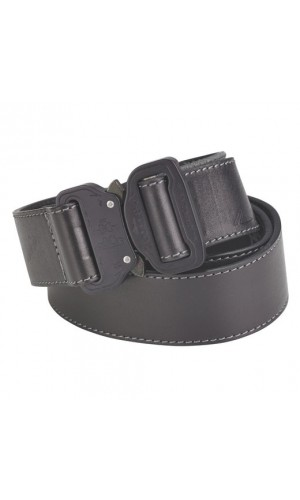 Austri Alpin Leather Belt Cobra 38 Black