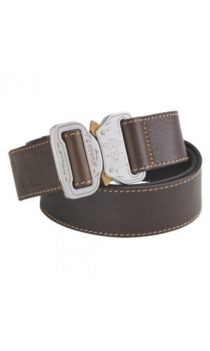 Austri Alpin Leather Belt Cobra 38 Brown