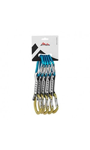 Austri Alpin Rockit Alloy Blue/Yellow (Set of 5)