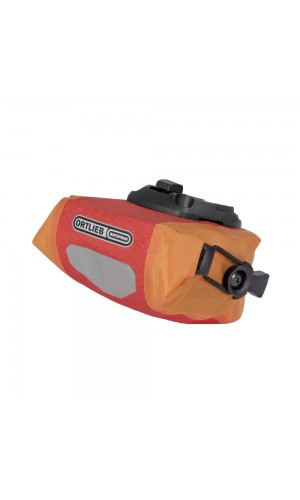 ORTLIEB SADDLE BAG MICRO SIGNAL RED ORANGE