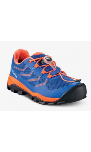 Scarpa Neutron Kid Deep Blue Orange