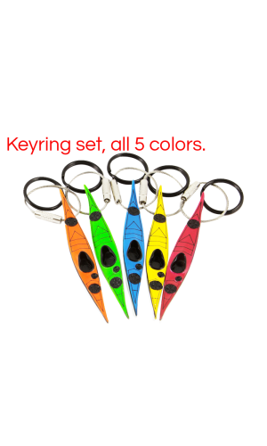 Hobkey Sea Kayak Keychain